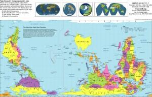 Australia Cartina Geografica.Questione Di Punti Di Vista Le Cartine Geografiche Non Sono Tutte Uguali