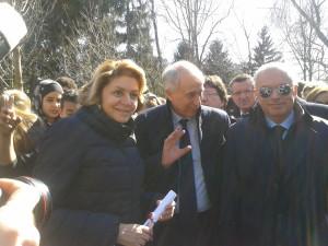 Il sindaco Pisapia insieme ai figli di Rocco Chinnici